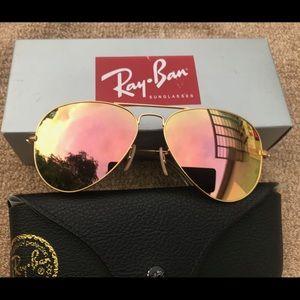 Ray ban aviators sunglasses 58mm